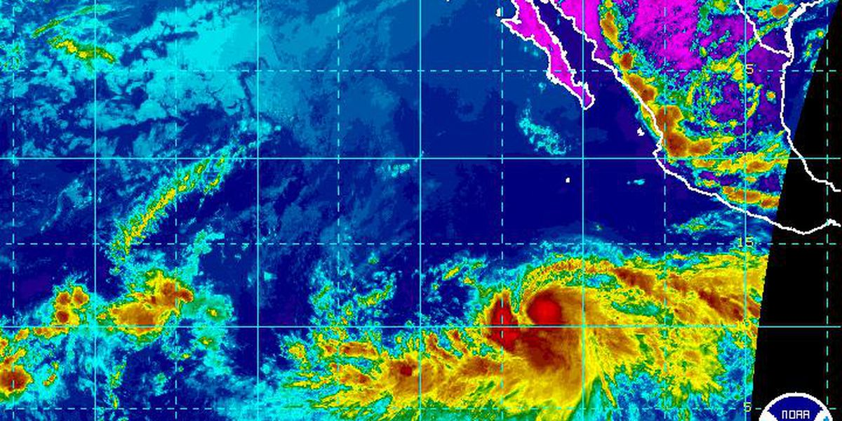 Tropical Storm Barbara strengthening in Eastern Pacific