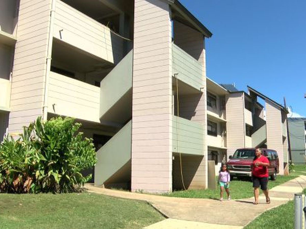 Waitlist applications for Oahu public housing to open for low-income families