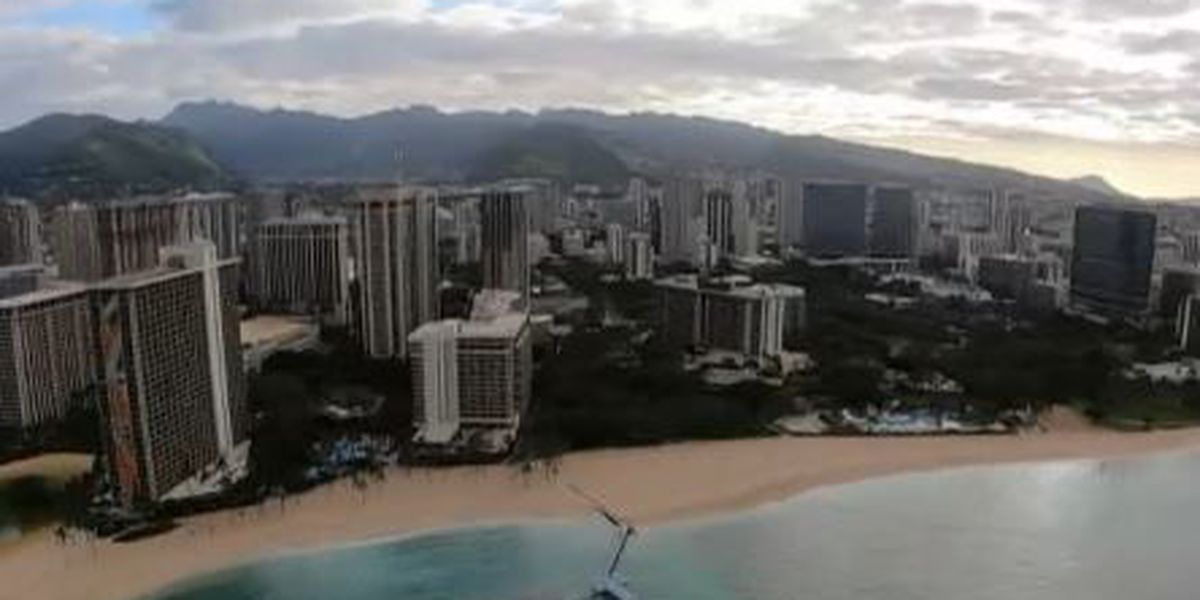 Tourism halt allows Hawaii construction projects to proceed