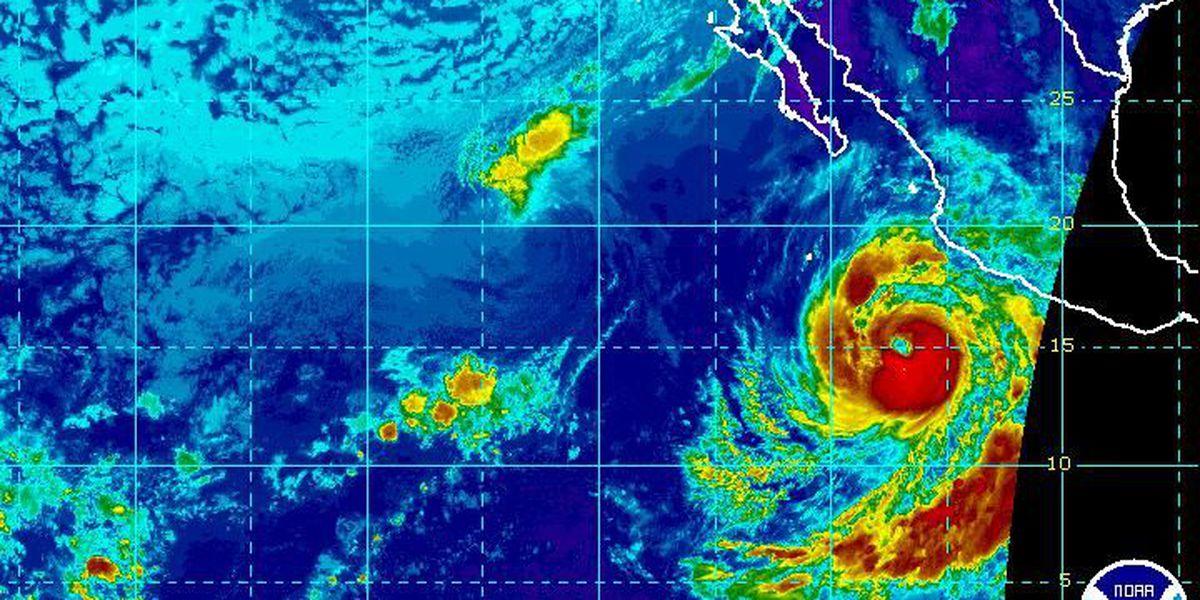 Hurricane Blanca poses threat to Baja peninsula as it gains strength