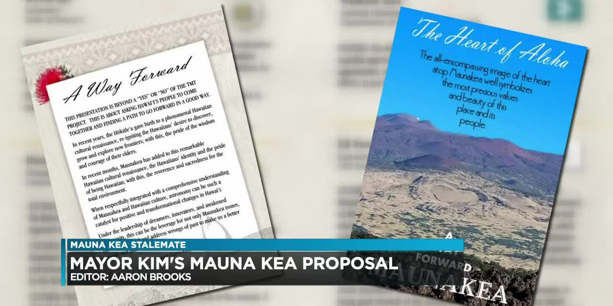 Big Island mayor pitches 'way forward' for Mauna Kea with pledges to address protesters' concerns