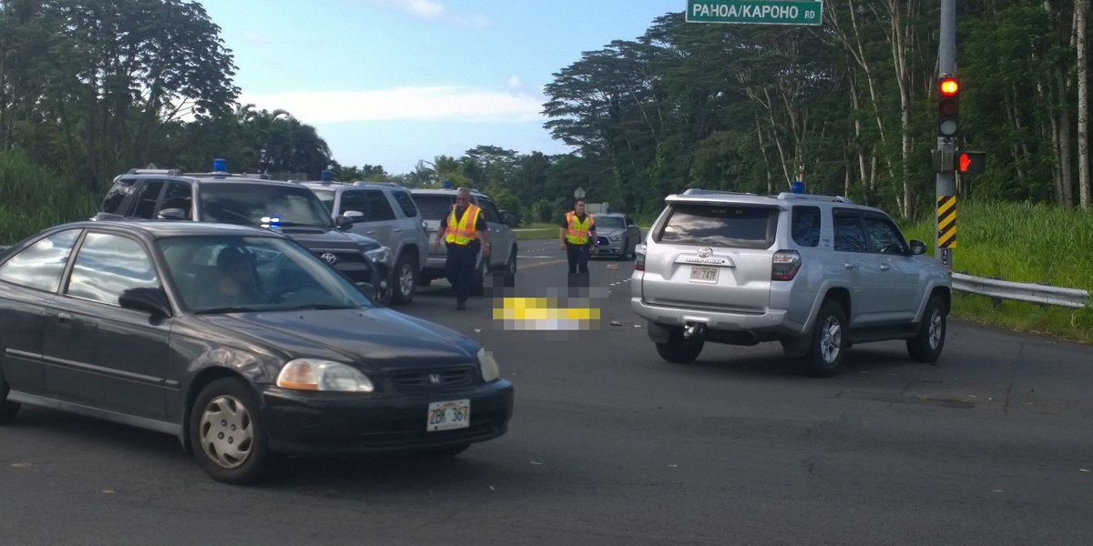 Driver in fatal Pahoa hit-and-run charged