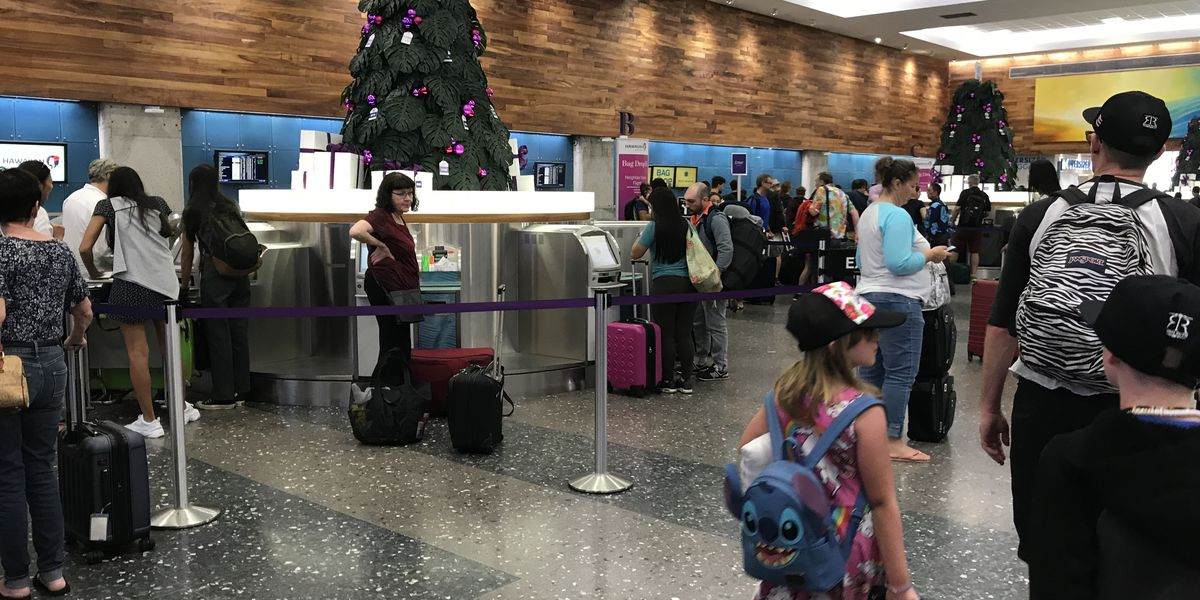 Flying Hawaiian? Changes to check-in lobbies begin Wednesday