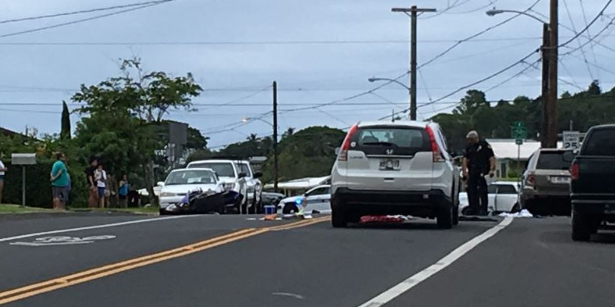 Police identify victim in fatal Kaneohe motorcycle crash