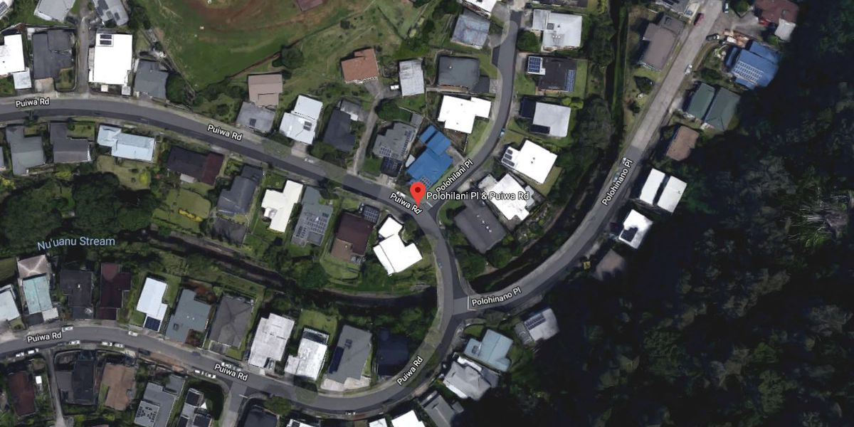 Water main break reported in Nuuanu