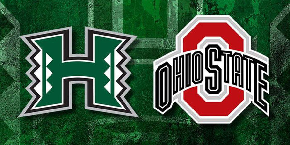 LIVE BLOG: Rainbow Warriors vs. Ohio State Buckeyes