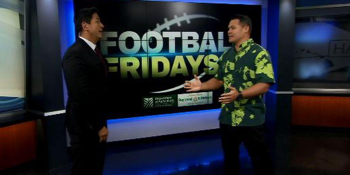 Football Fridays: Week 15 (11/09/2018)