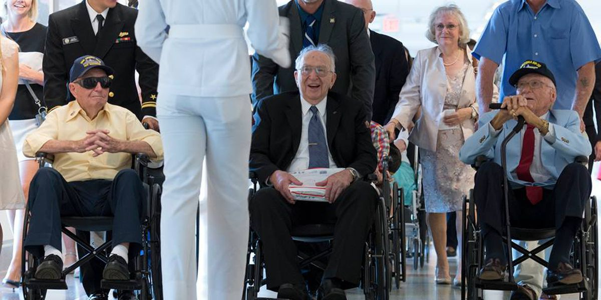 3 remaining USS Arizona survivors honored in nation's capital