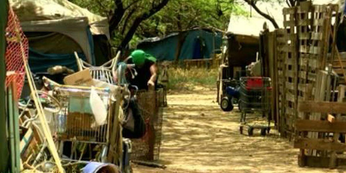 Oahu homeless 'safe zone' turns to waste-ridden encampment