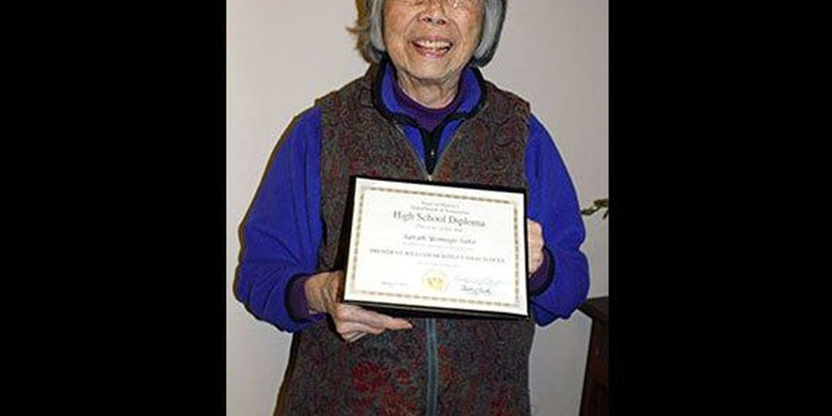 McKinley High student interned in World War II earns diploma