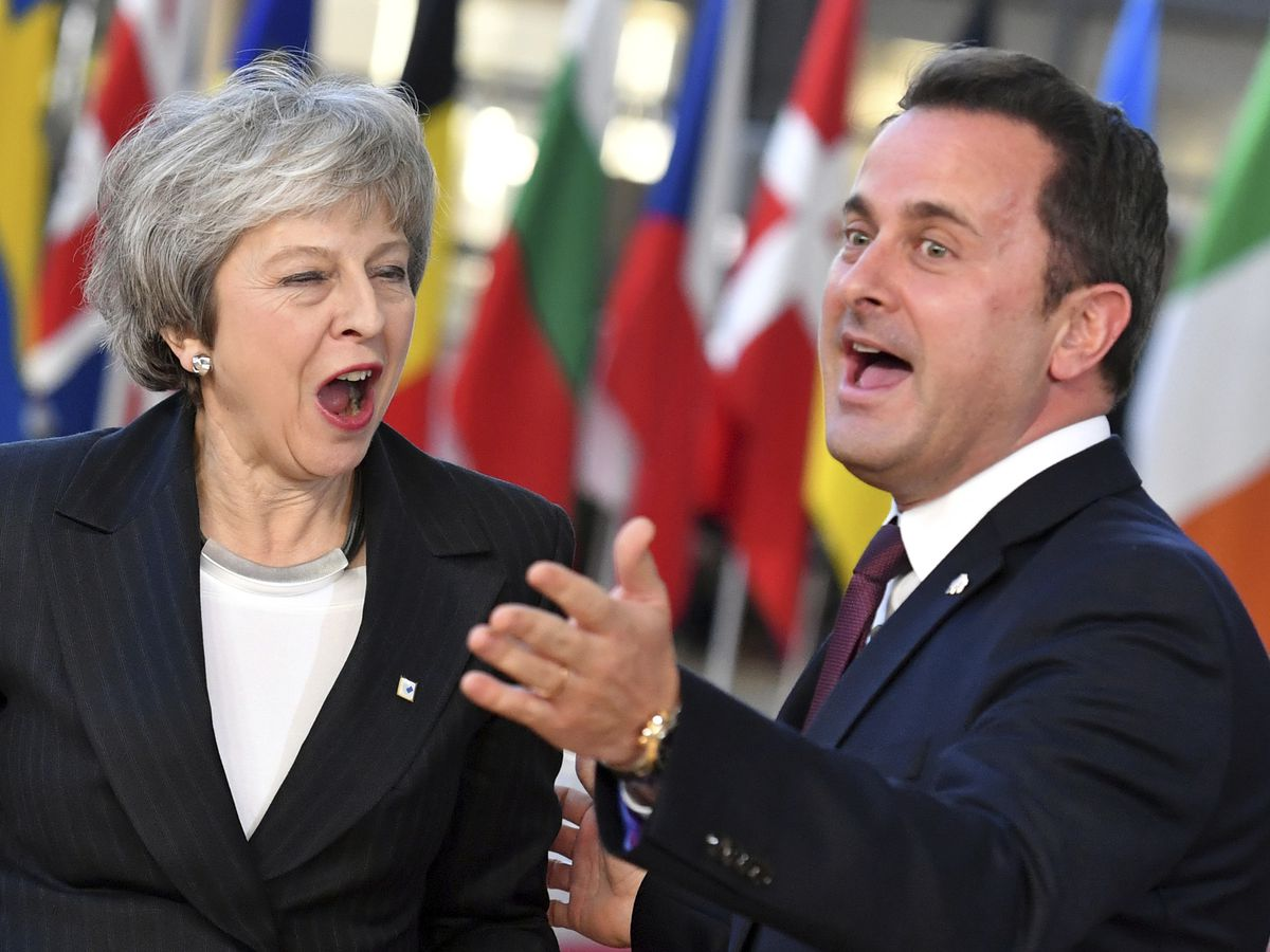 The Latest: Luxembourg blames UK lawmakers for Brexit snags