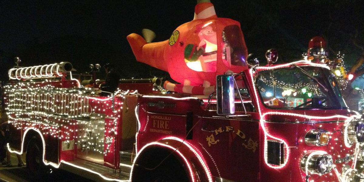LIST: 2016 Holiday parades on Oahu