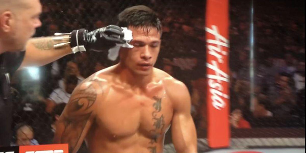 Maki Pitolo falls in UFC debut