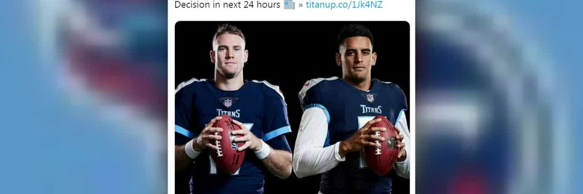 Titans' insider speculates Mariota will be benched this week