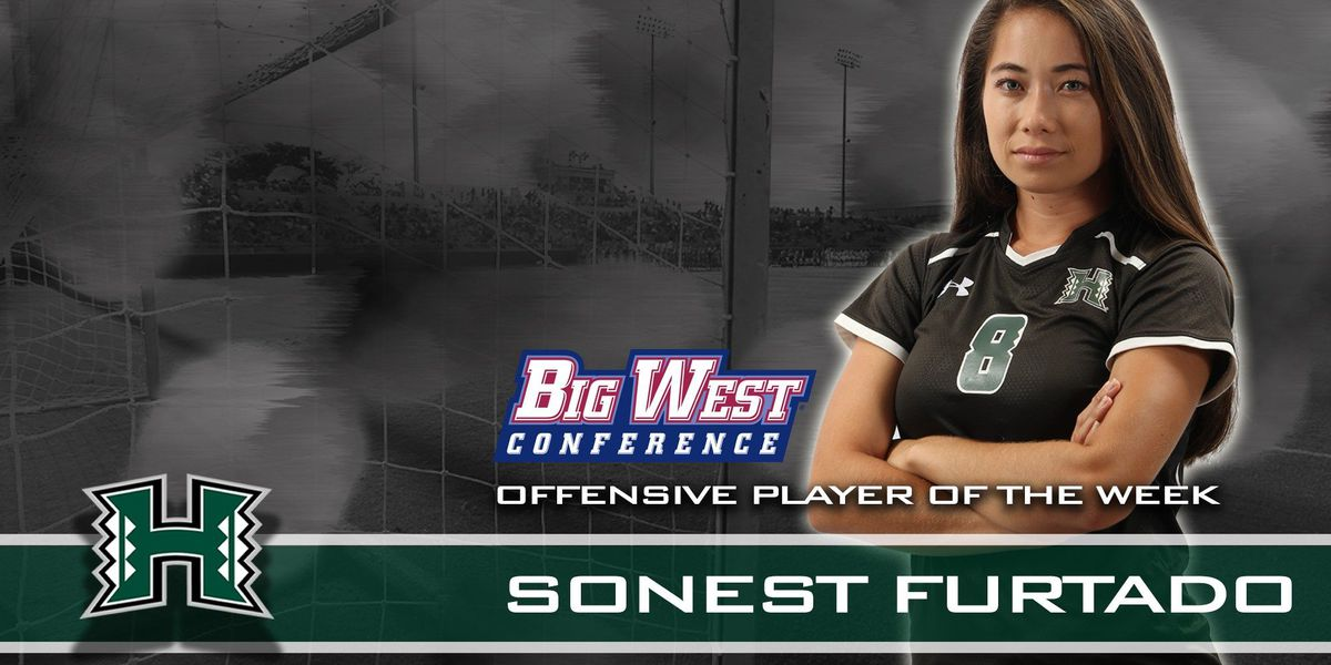 Rainbow Wahine soccer's Sonest Furtado earns second Big West Offensive Player of the Week honor of the season