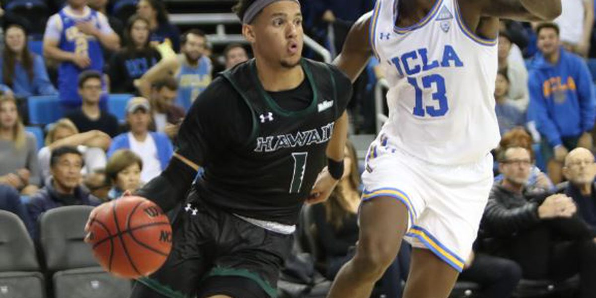 Hawaii drops 3rd road game in a row against UCLA, 80-61