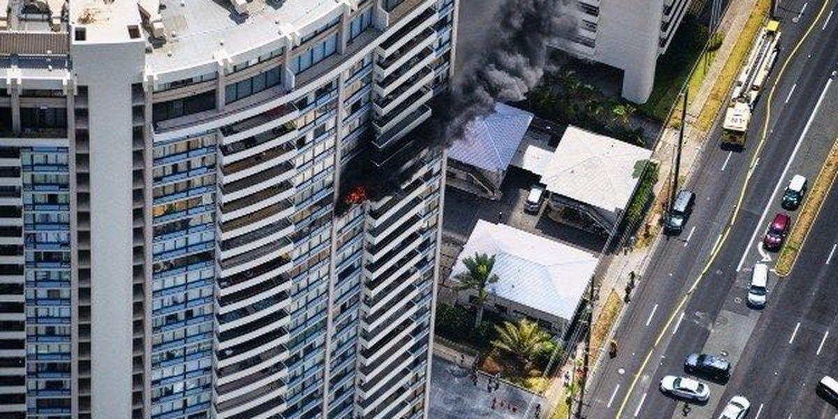 Elderly resident hospitalized following Marco Polo fire dies weeks after blaze