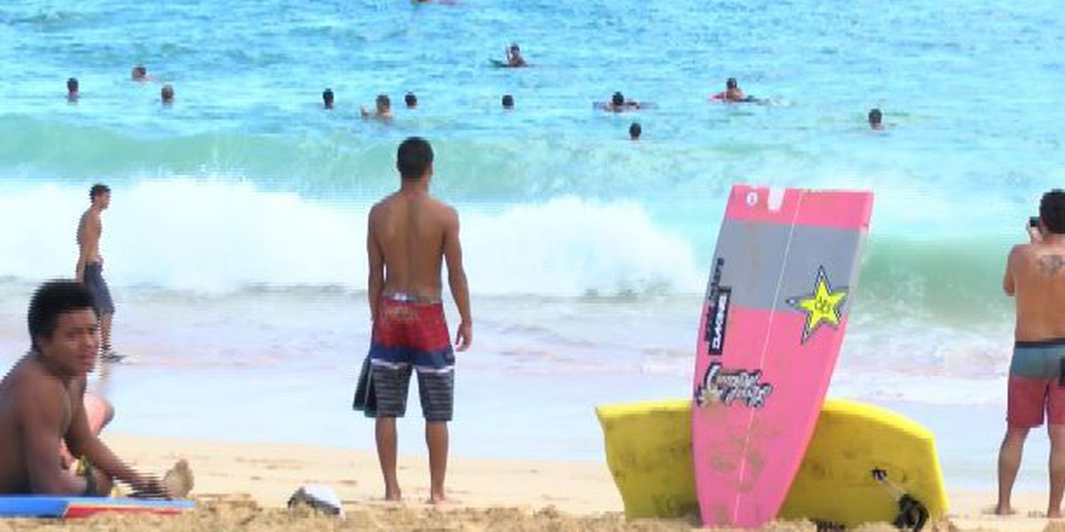 Close call for body surfer in near drowning at Sandy's