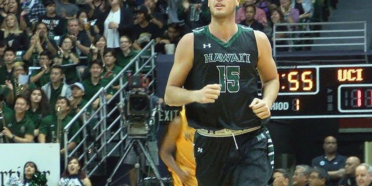 'Bows reserve Jovanovich to transfer from Hawaii basketball program