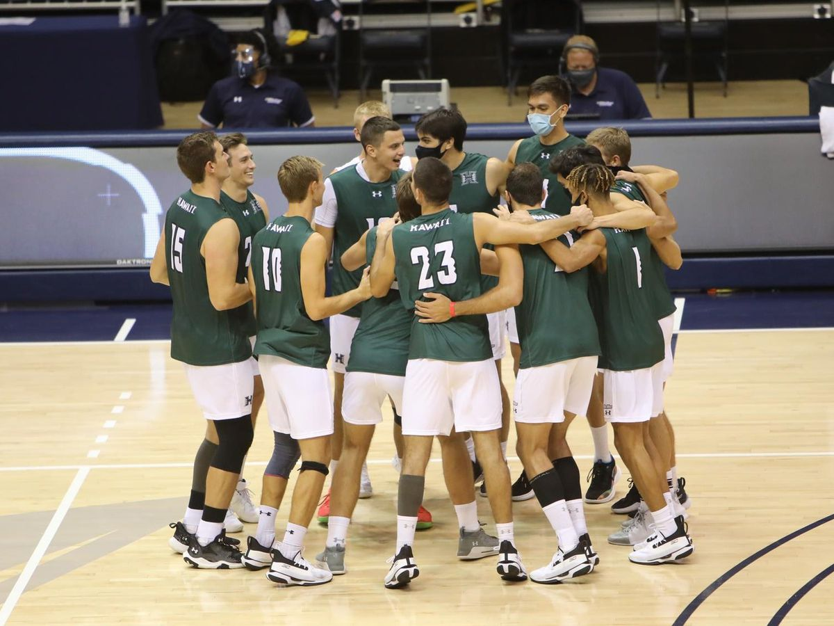 Top-ranked UH men's volleyball racks up All-Big West honors ahead of conference tournament