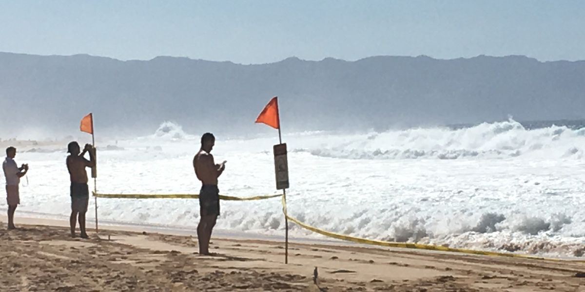 PHOTOS: Another massive swell rolls in to Oahu's North Shore