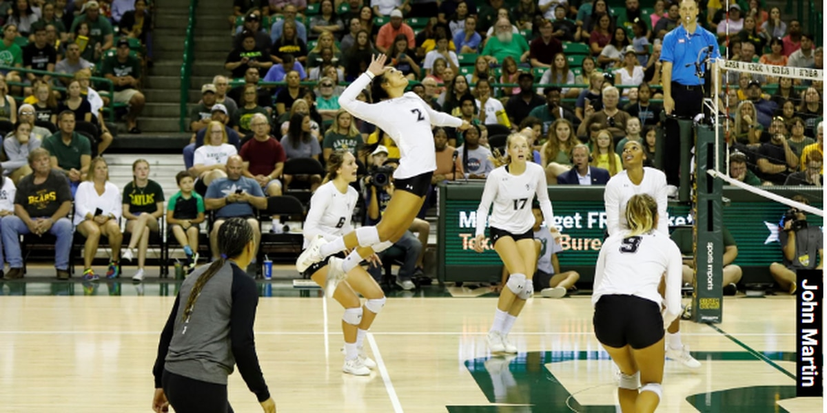 #13 Wahine fall to #5 Baylor, first loss of the season