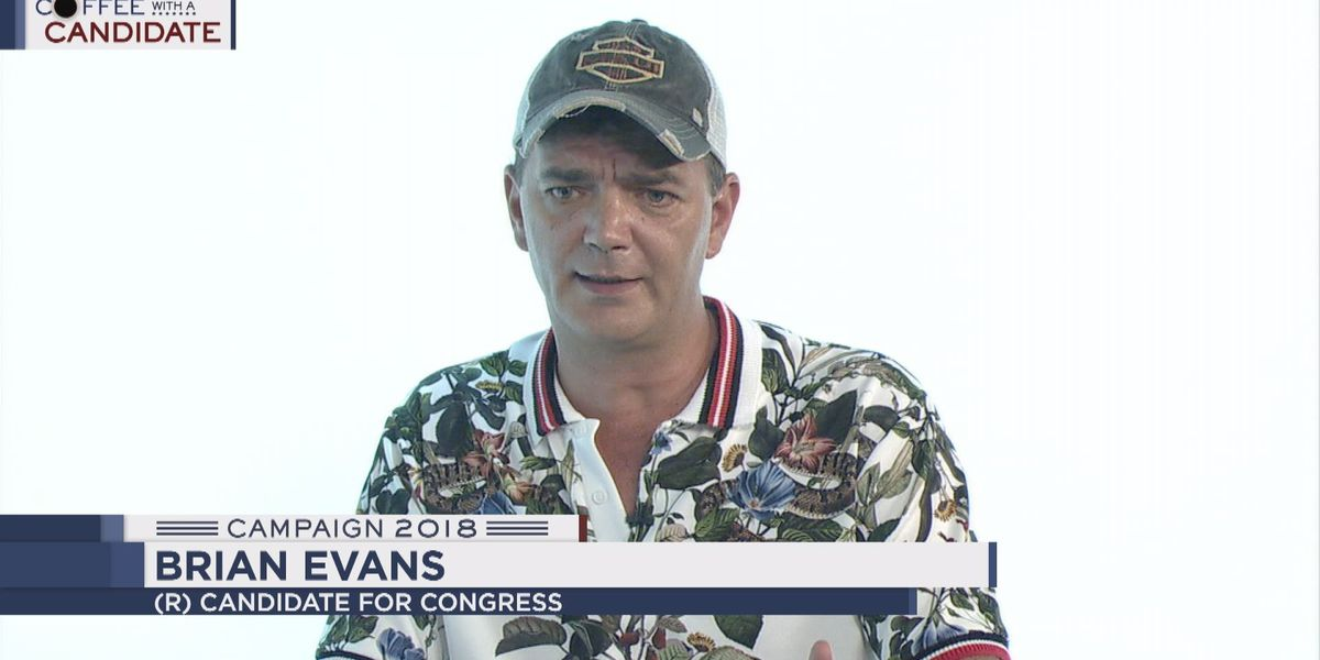Coffee with a Candidate: Republican candidate for Congress Brian Evans