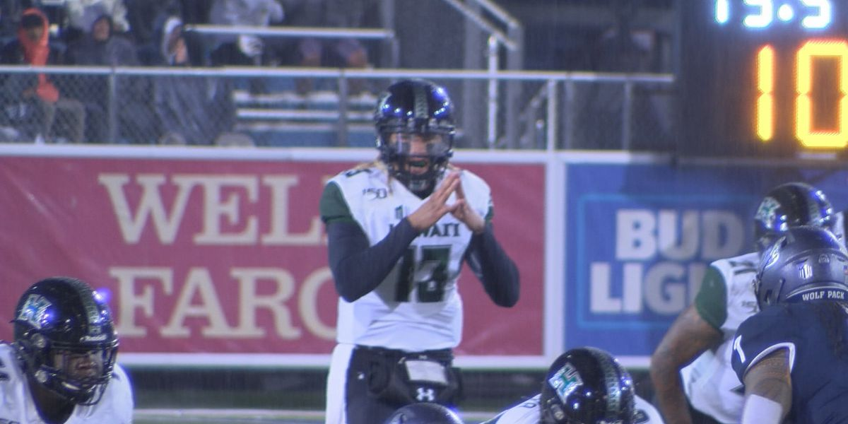 Hawaii routs Nevada in biggest victory since joining Mountain West