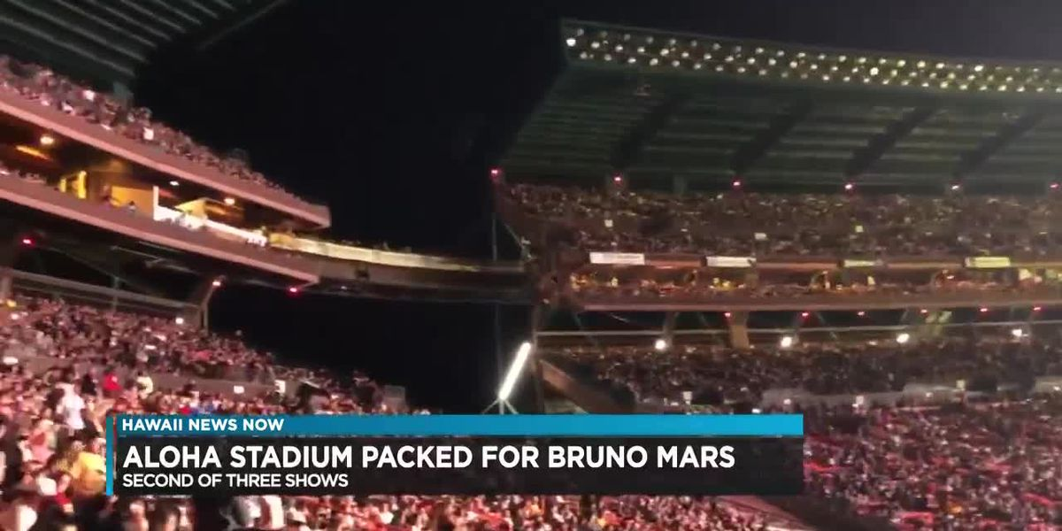 Bruno Mars brings the house down with some 'finesse'
