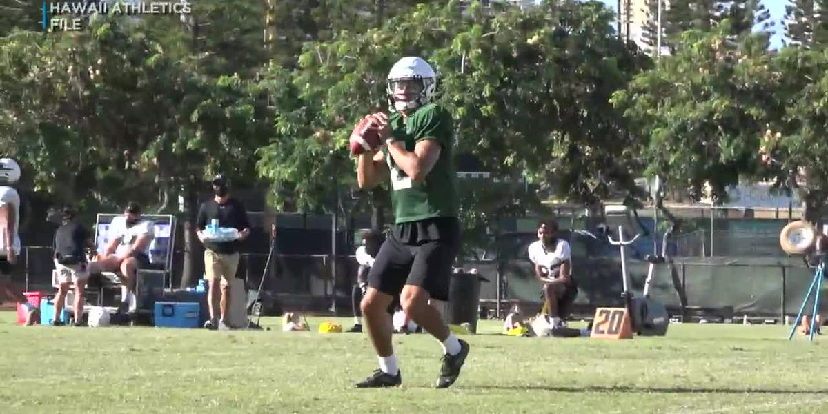 UH football's Cheven Cordeiro ready to lead the 'Bows this Saturday against Fresno State