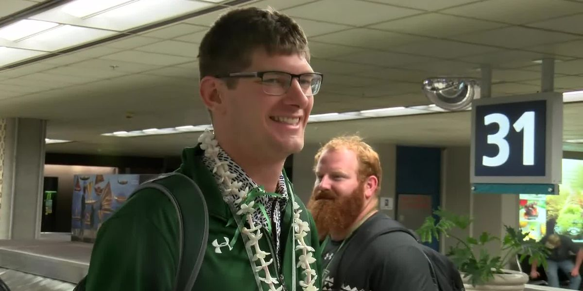 Warriors receive warm welcome following NCAA Tournament run