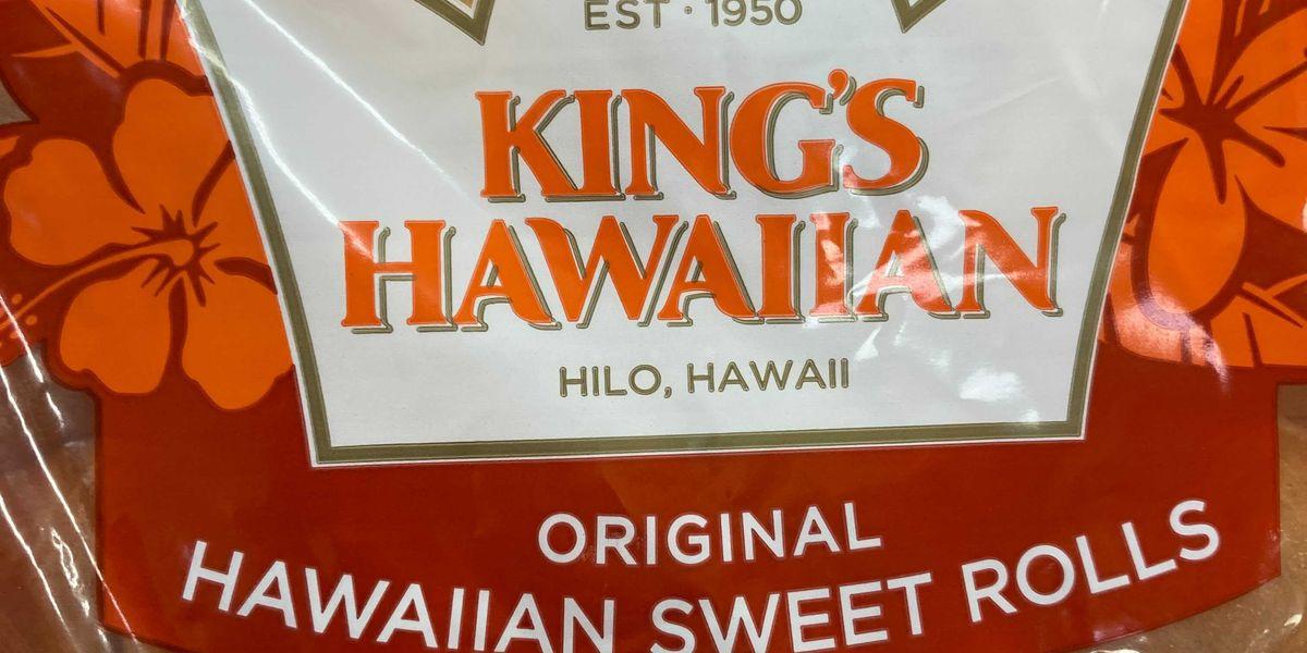King's Hawaiian sued for not actually making its sweet rolls in Hawaii