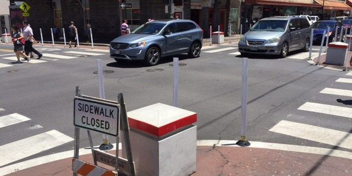 Chinatown merchants irked over extended sidewalks call for immediate removal