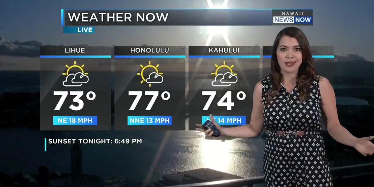 Monday evening weather with Meteorologist Jennifer Robbins