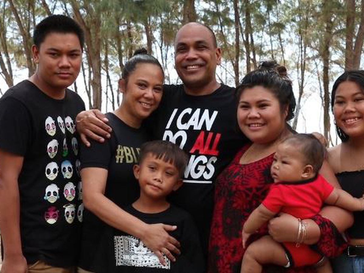 Drugs and abuse tore them apart, but this Waiamanalo family has finally been reunited