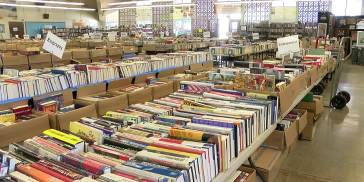 Hawaii's largest annual book sale goes virtual