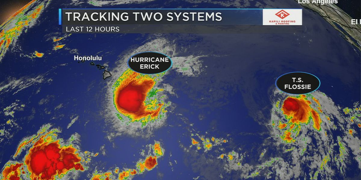 Forecast: Hurricane Erick closes in on the Big Island, severe conditions possible through Friday