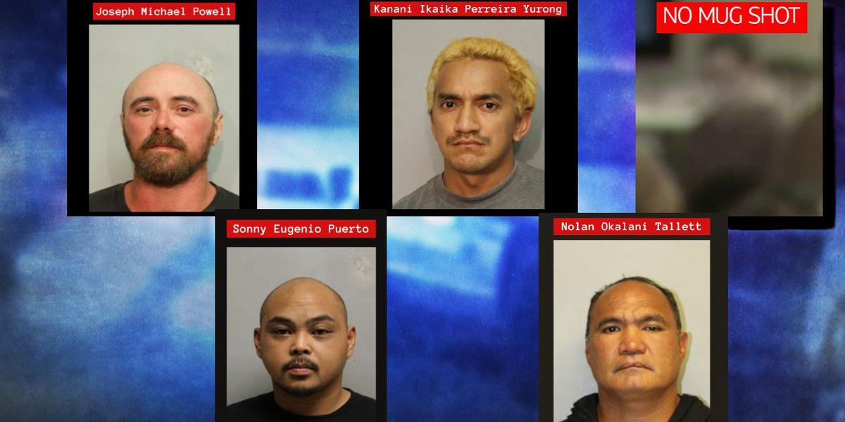 'Operation Keiki Shield' nabs 5 Big Island men accused of targeting minors online