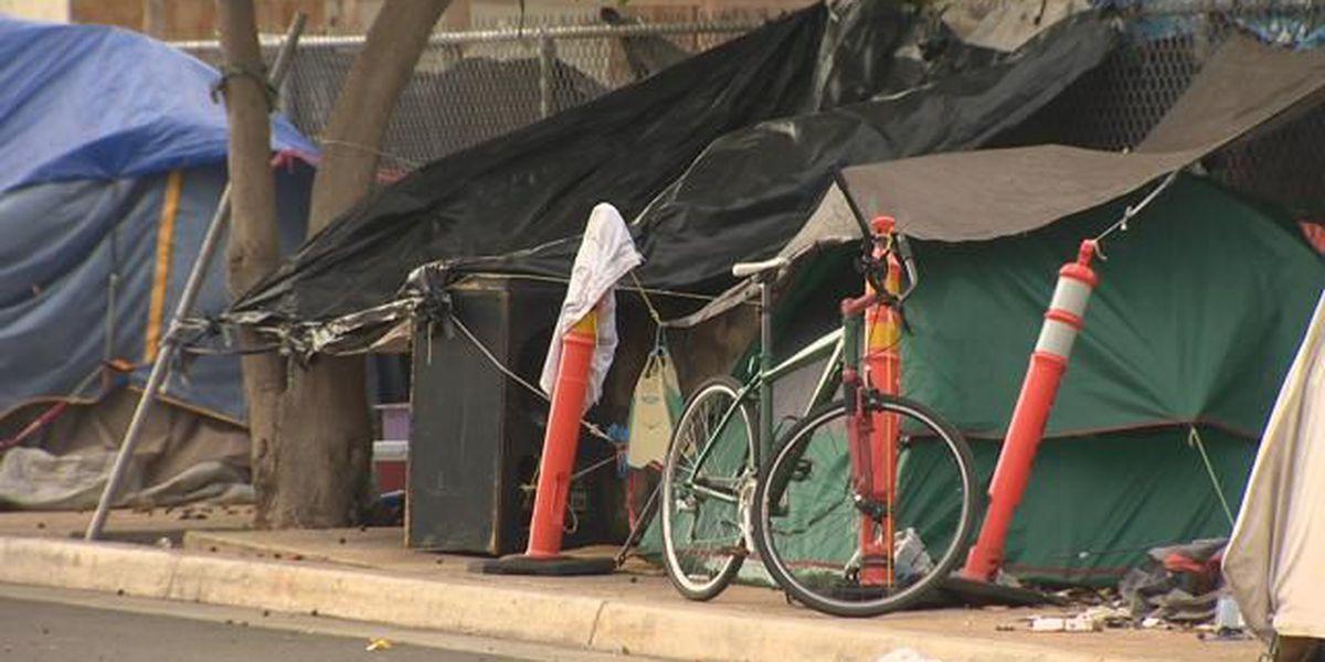 Ige announces increase in homeless program staffing, progress in Kakaako