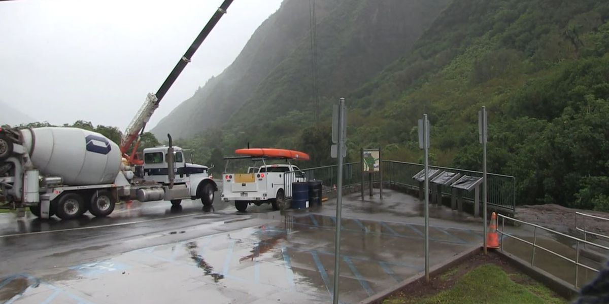 Iao Valley expected to reopen in August as $1.8M repairs continue