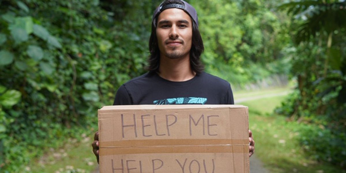 UH grad wants to pay off his student debt, one odd job at a time
