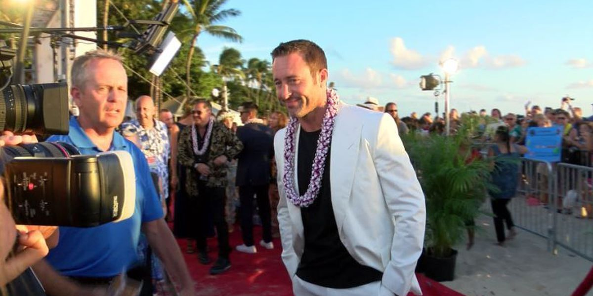 Launch of Hawaii Five-0, Magnum P.I. celebrated by adoring fans in Waikiki