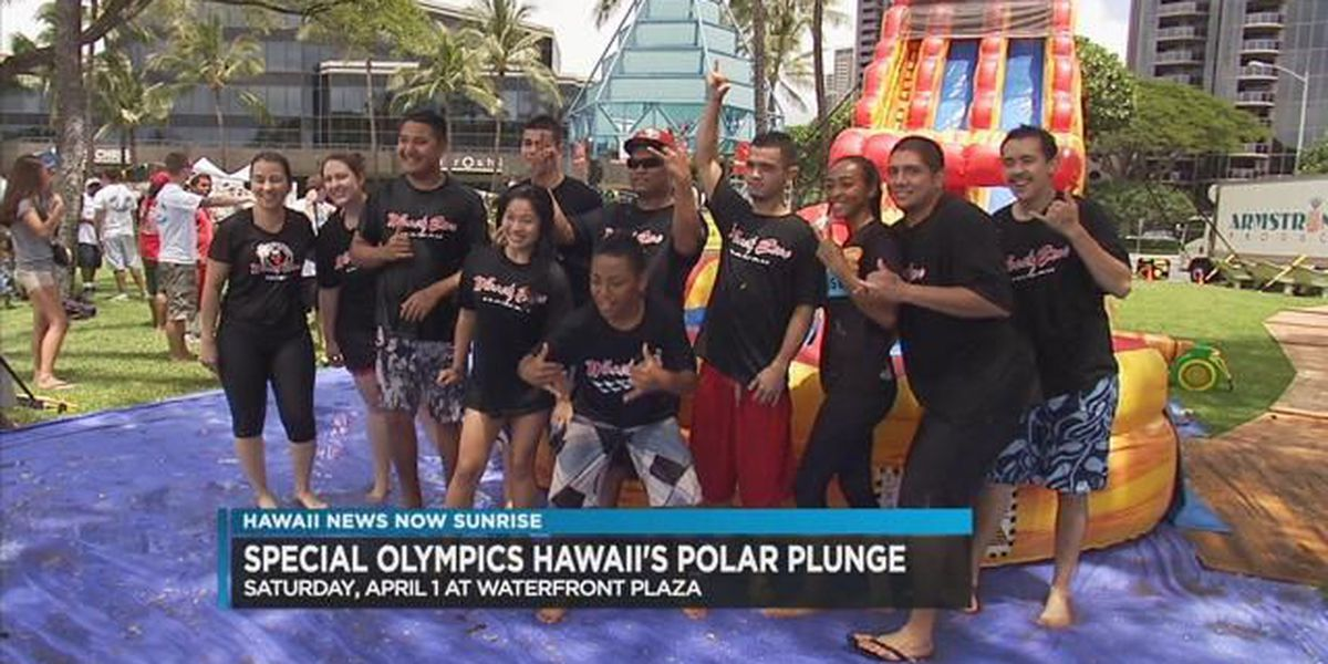 Chill out at Special Olympics Hawai'i's Polar Plunge