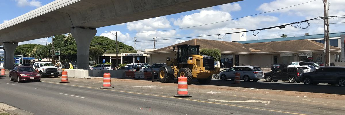 Kamehameha Highway in Pearl City will soon go back to 3 lanes each way