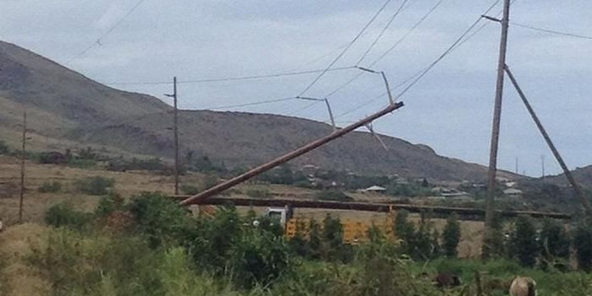 Power restored to Maui residents days after Iselle