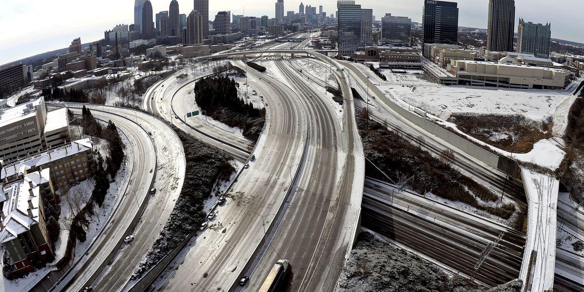 Days before Super Bowl, Atlanta braces for winter storm impact