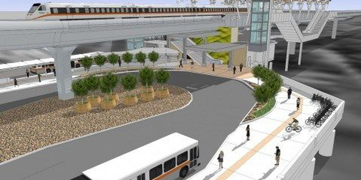 Rail station bids exceed projected budget