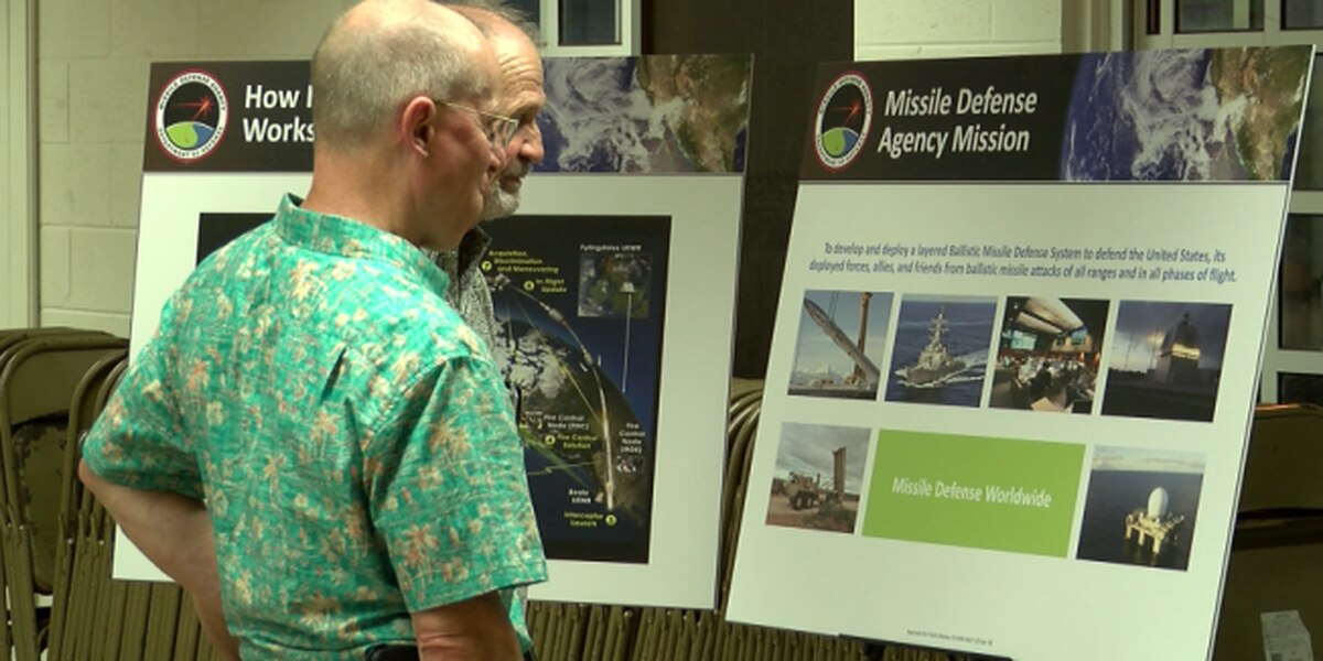 Military officials address residents' concerns over location of missile radar