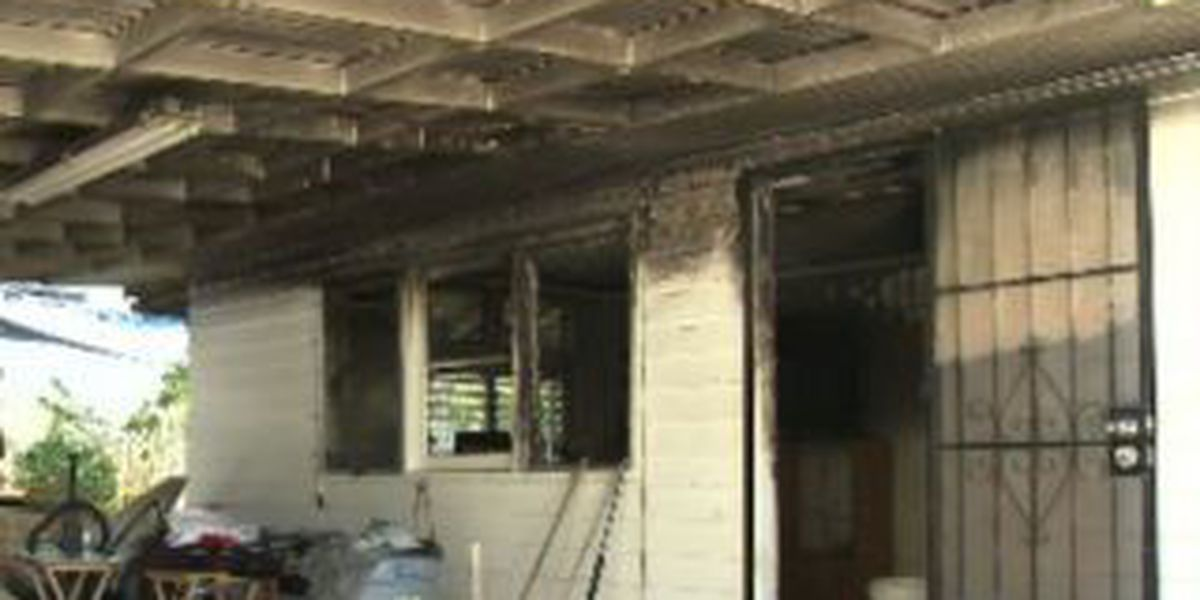 Woman escapes from burning home in Kalihi