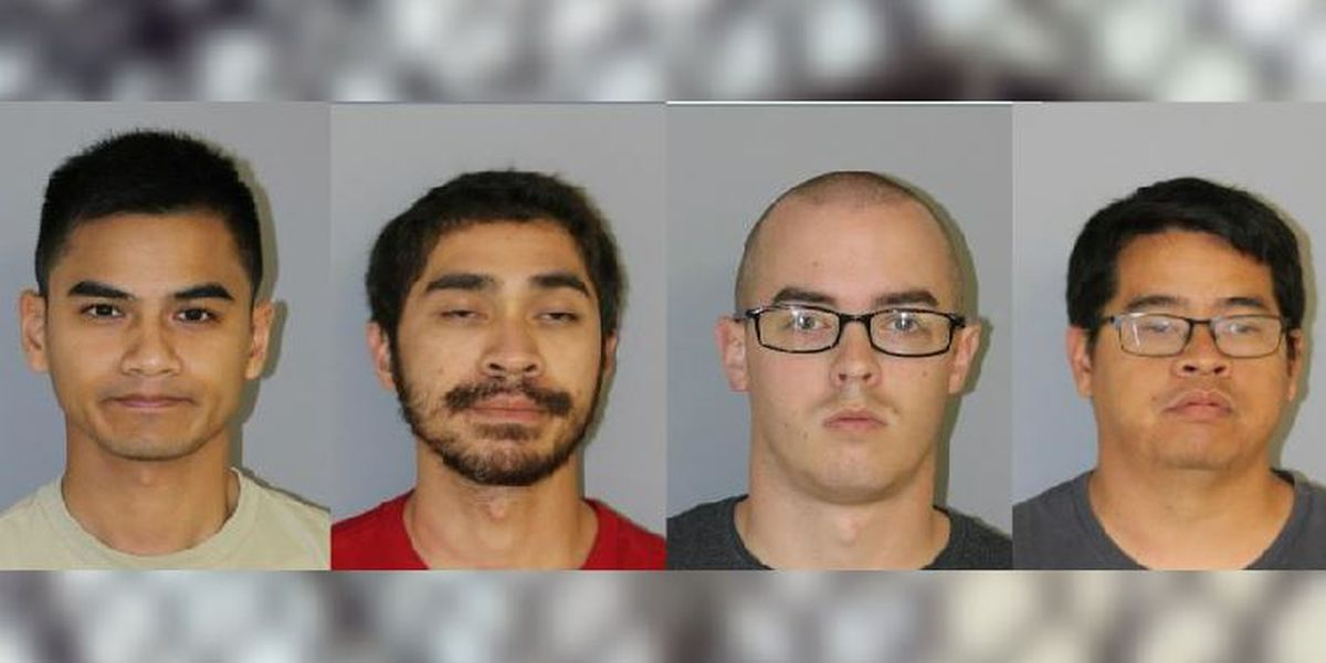 Multiple suspects arrested in electronic enticement sting
